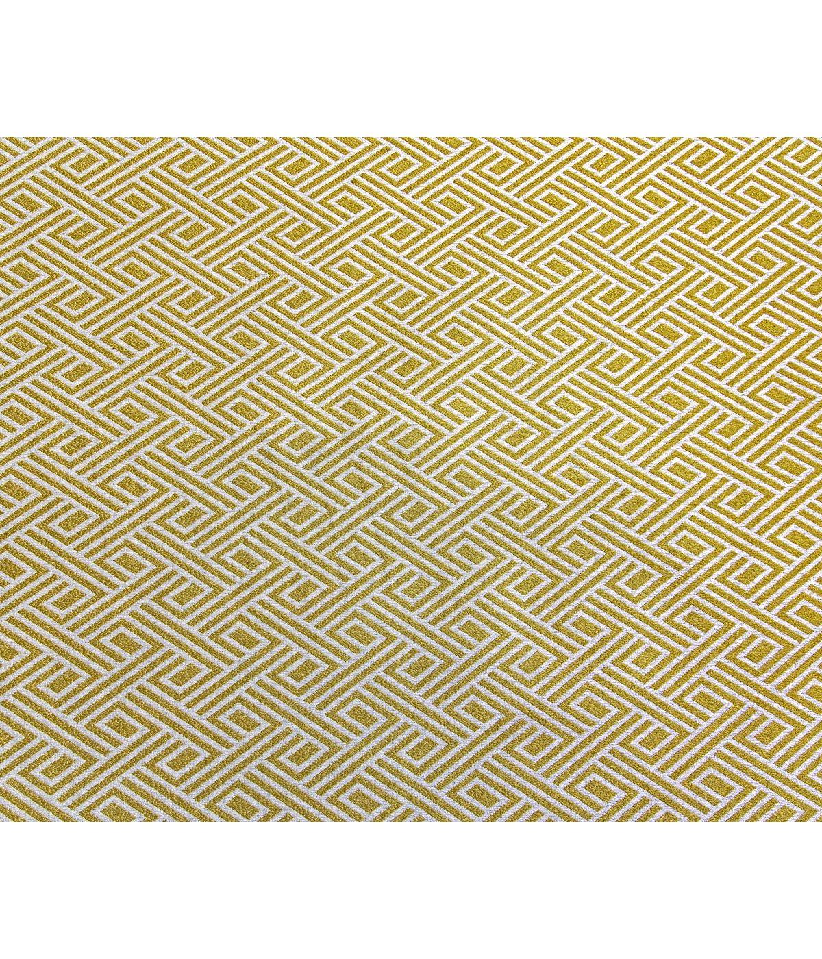 draperie galbena pentru living Tirreno