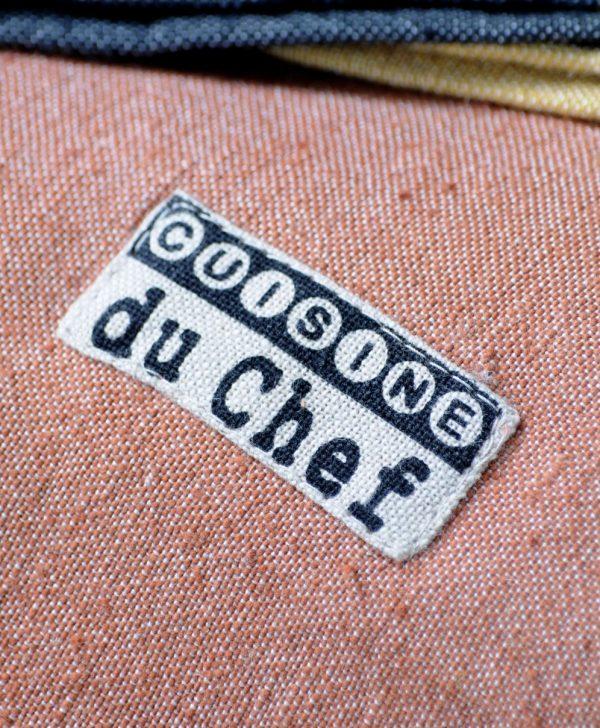 fata masa bumbac rustica Chef Brique