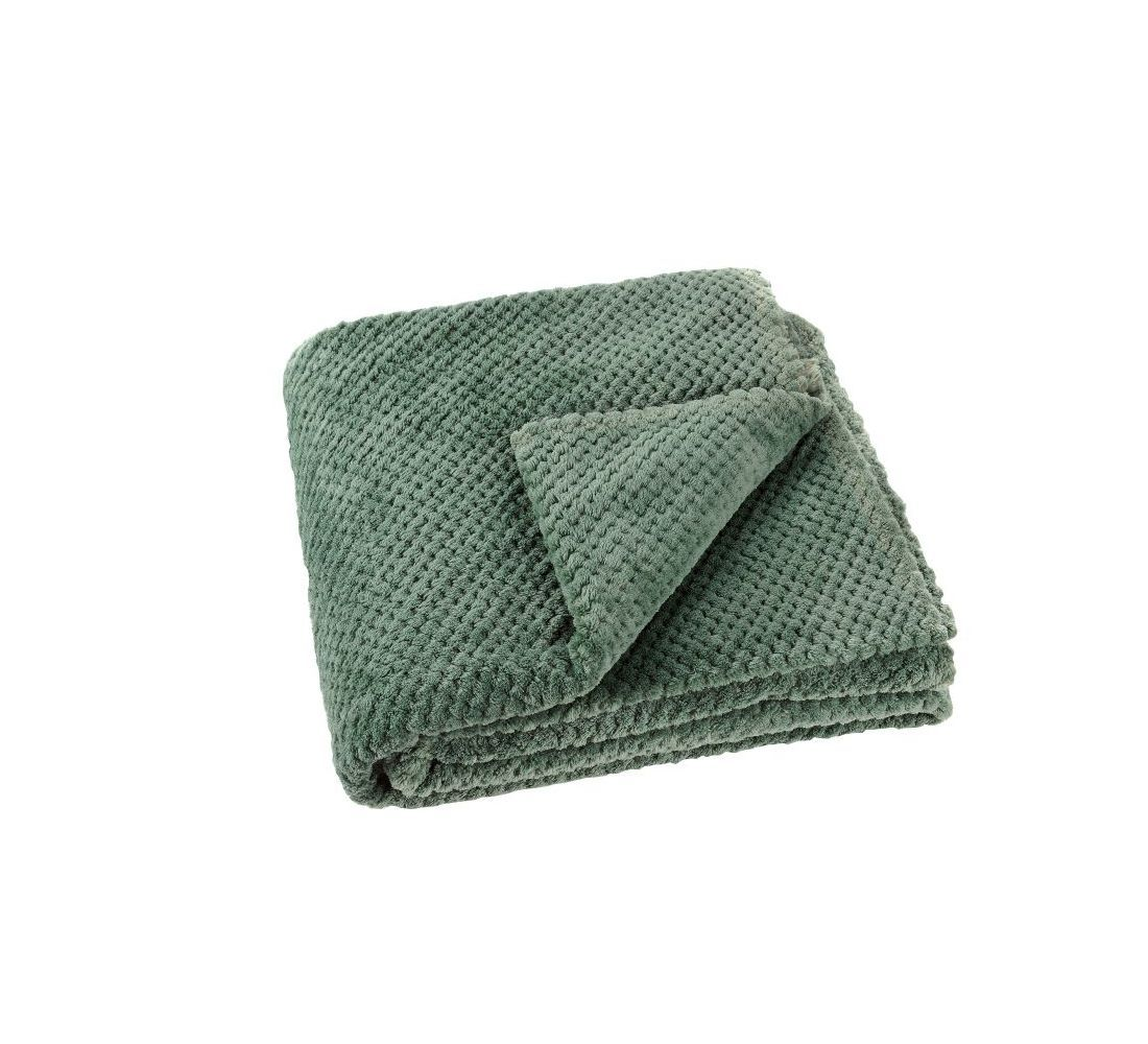 patura crosetata verde poliester 5111 Praline