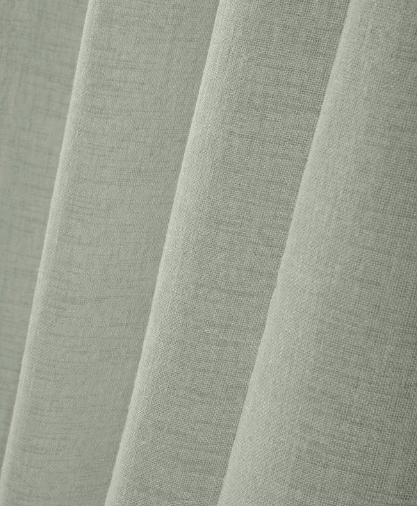 perdea rustica kaki texturata Paloma Lichen
