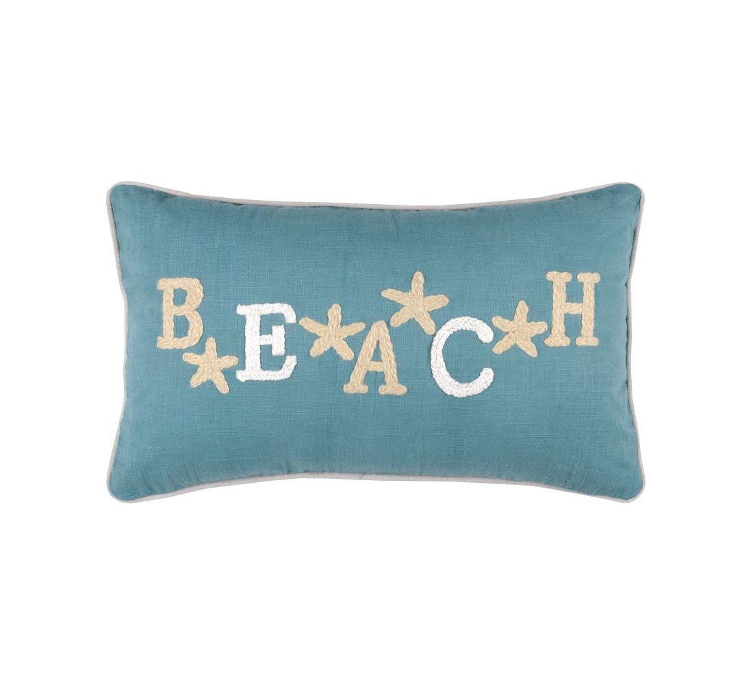 perna deco Beach turcoaz 30x50 cm
