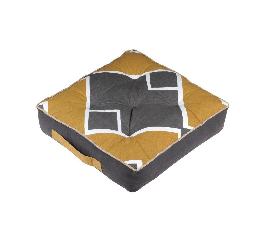 perna geometrica podea galbena gri Alabama Anthracite