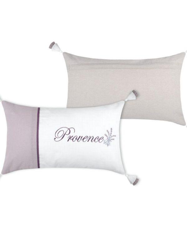 Provence perna deco lavnada bumbac Cavaillon Blanc