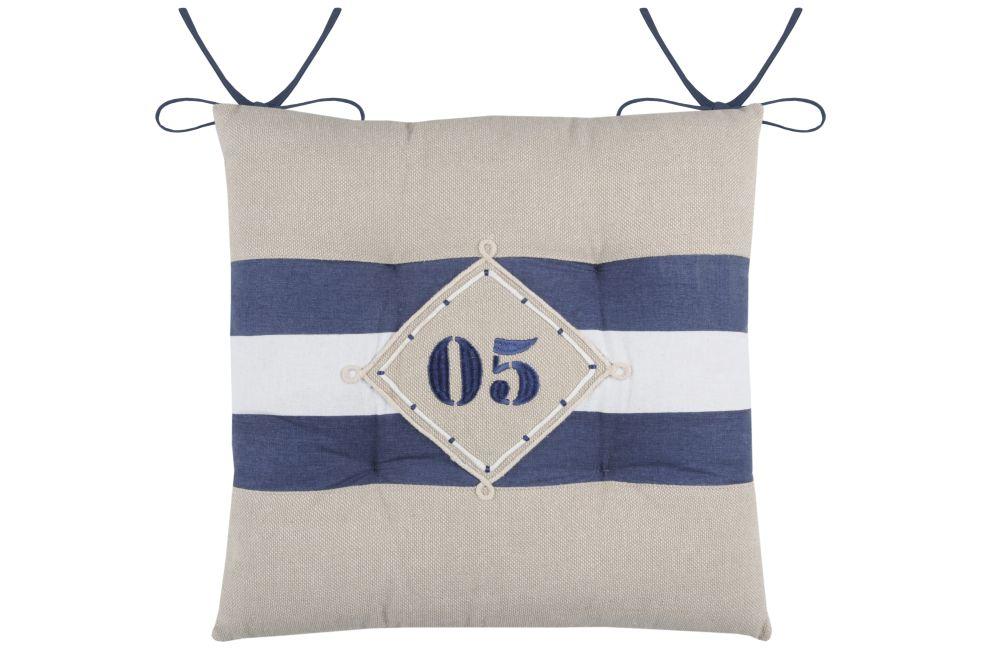 perna bumbac scaun terasa cu snur Olonne Marine