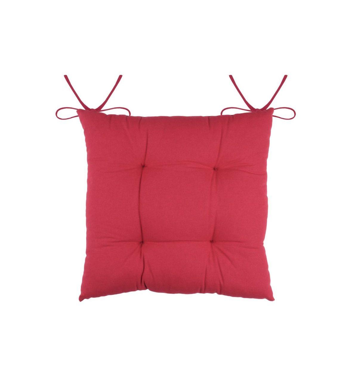 perna rosie scaun cu snur Pauline Rouge