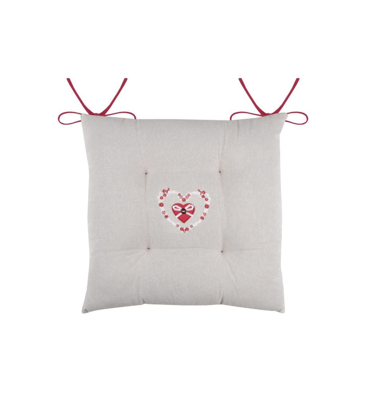 perna scaun inimioara rosie Pauline Rouge