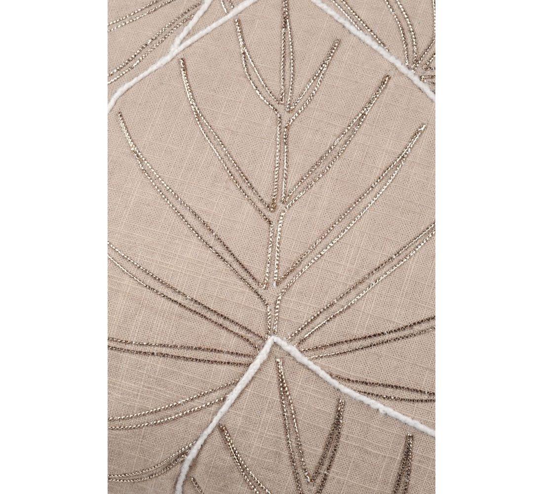 perna maro frunze bumbac Maroni Ficelle 40x40 cm