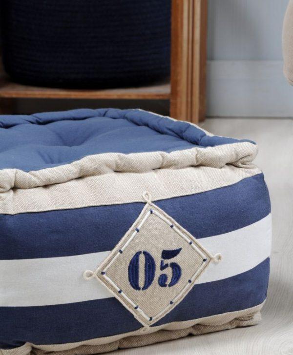 marinareasca podea albastra Olonne Marine 40x40x30 cm