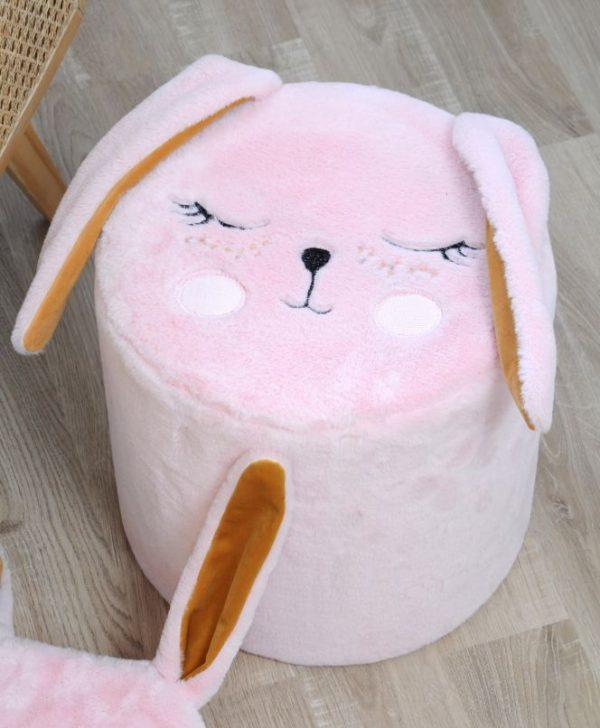 taburet roz iepuras fetite Pimprenelle